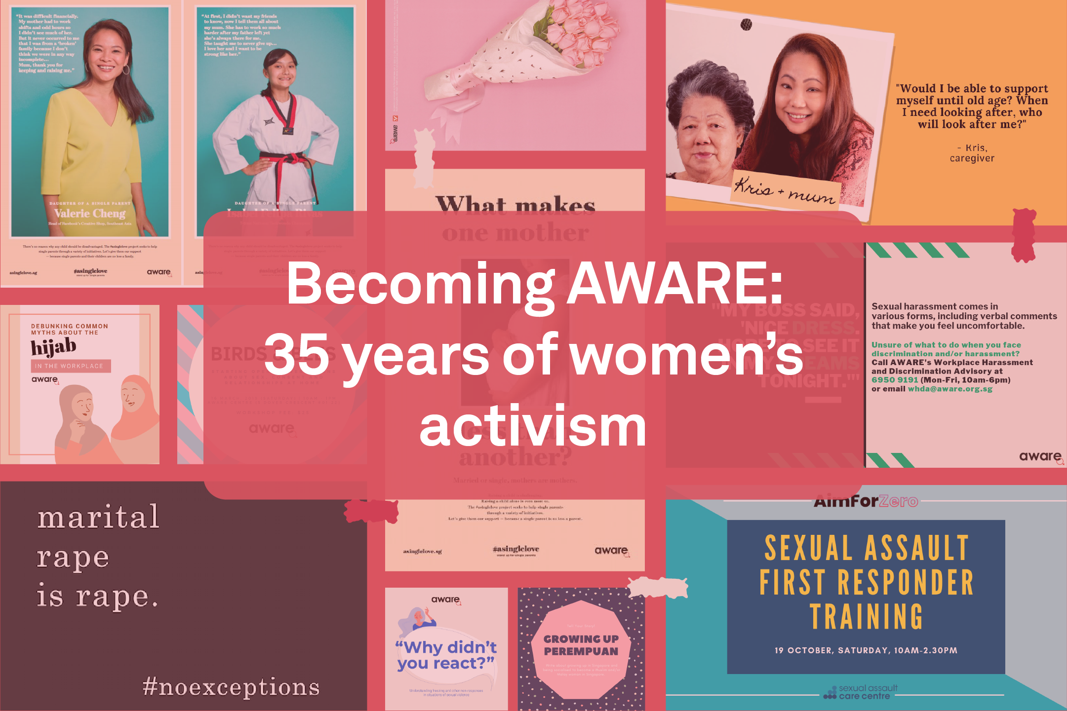 Becoming AWARE: 35 years of women's activism