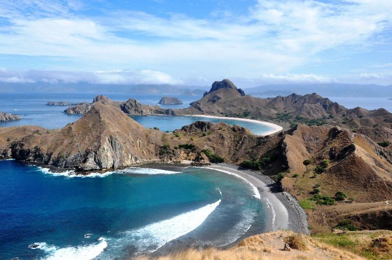 A view of Komodo National Park.