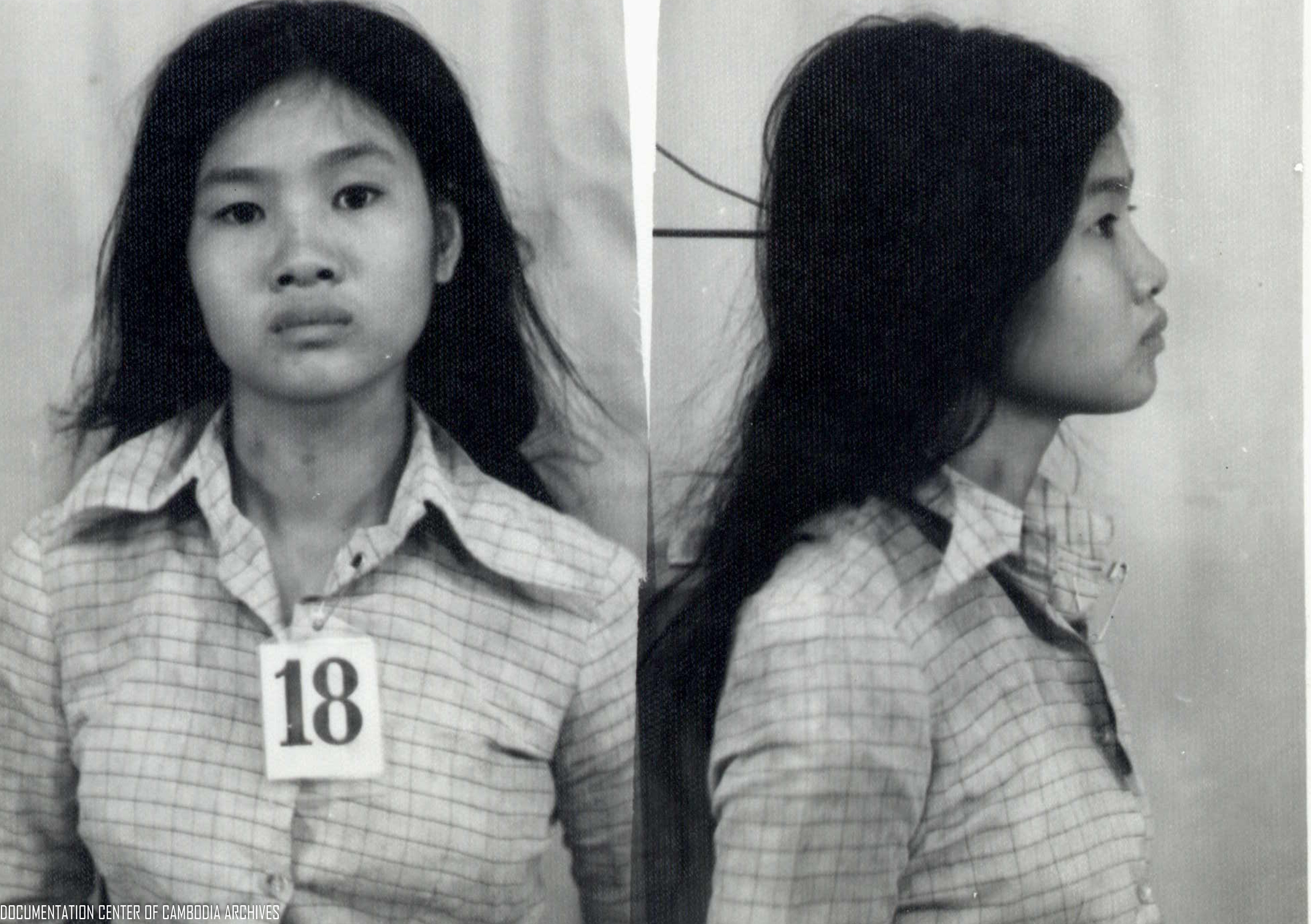 Vietnamese detainee from S-21 or Tuol Sleng prison.