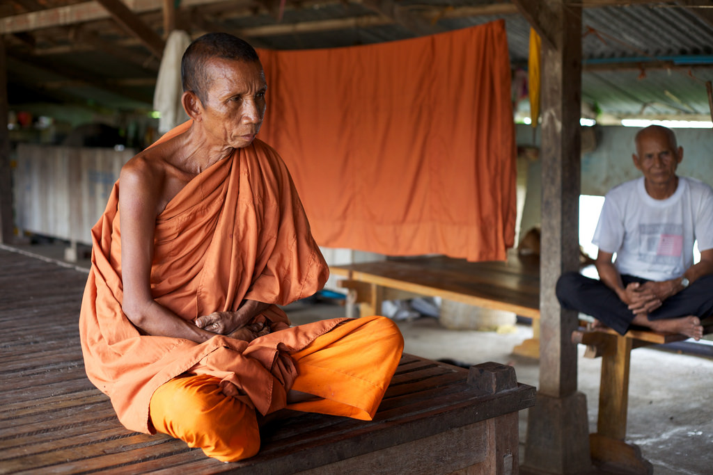 "The 64-year-old Khmer Krom monk May Sokhan talks about being tortured and disrobed by the Khmer Rouge. At Wat Pratheat pagoda, he is the ""keeper of the bones"" and has performed ceremonies for the deceased."