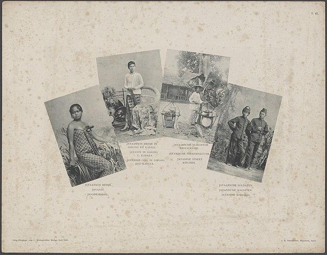 Photo album of colonial images taken in Sumatra