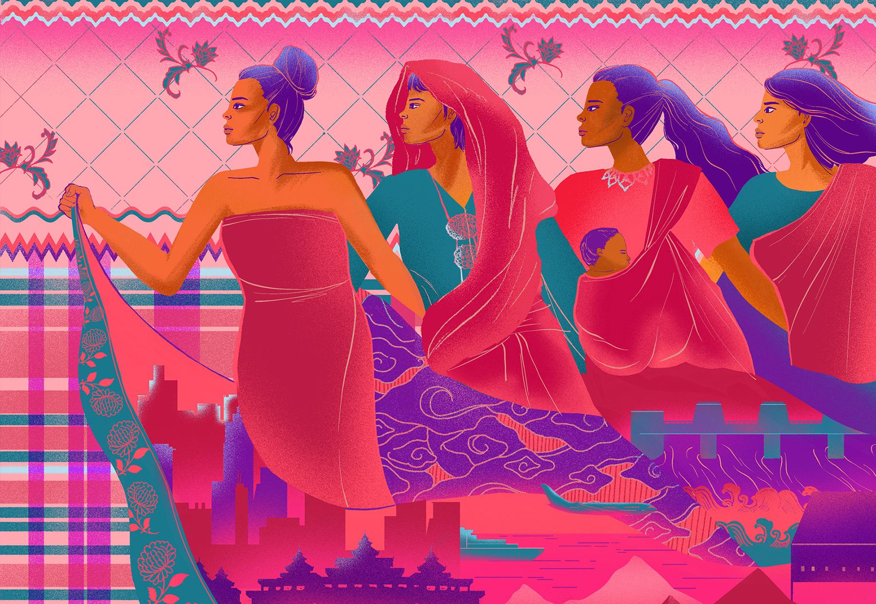 A sarong's story: Reclaiming Asia's versatile cloth