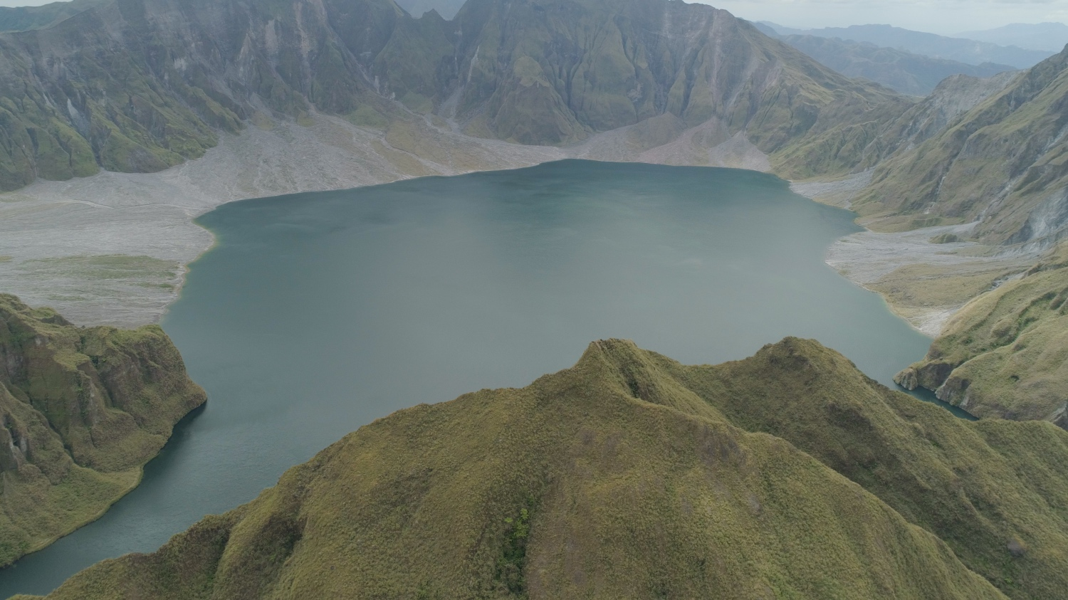 Lake Pinatubo is a crater lake that formed after Mount Pinatubo's eruption in 1991. It is the deepest lake in the country.